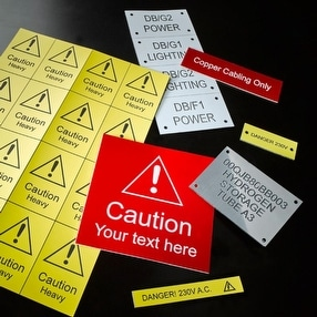 Electrical & Warning Labels by Ask Engraving