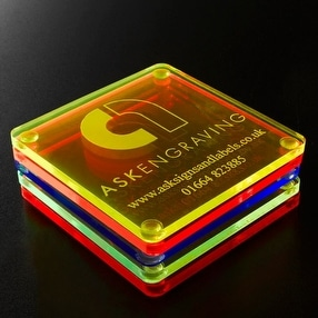 Company Branding Labels by Ask Engraving