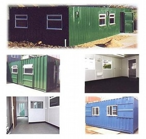 Shipping Container Accommodation by Lendon Containers Ltd