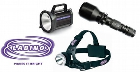 Labino White Lights & Torches by Advanced NDT Ltd.