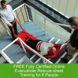 Free Training with All Evacuslider Rescue-Sheets from Evacuafe