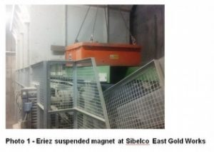 Eriez helps Sibelco producing quality ball clay from Eriez Magnetics Europe Ltd.