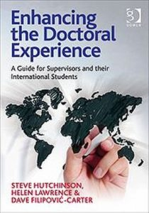 Enhancing the Doctoral Experience from Gower Publishing Ltd.