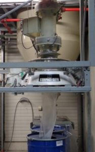 Industrial screening equipment for powder coatings from Russell Finex Ltd.