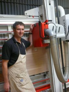 Cabinet maker benefits from a used Striebig from TM Machinery