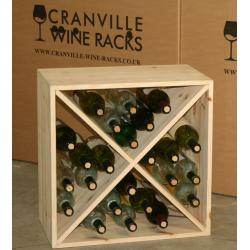 Wine cubes and wine case drawers by Cranville Wine Racks Ltd