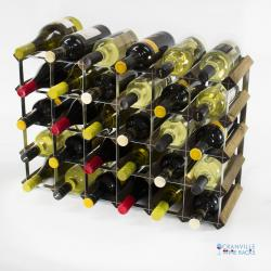 Wood and metal wine racks – home and business by Cranville Wine Racks Ltd