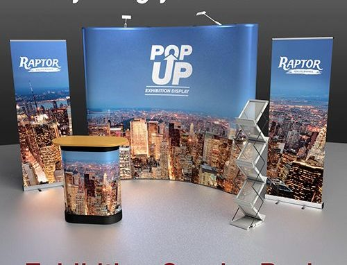 Pop Up Exhibition Displays by Cafe Menu Systems
