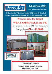 WRAS Approval from Precolor Sales Ltd.